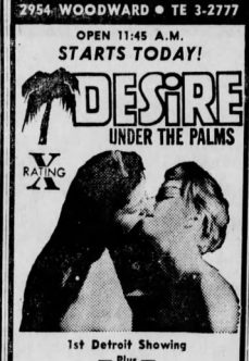 Desire Under the Palms 1968 full izle